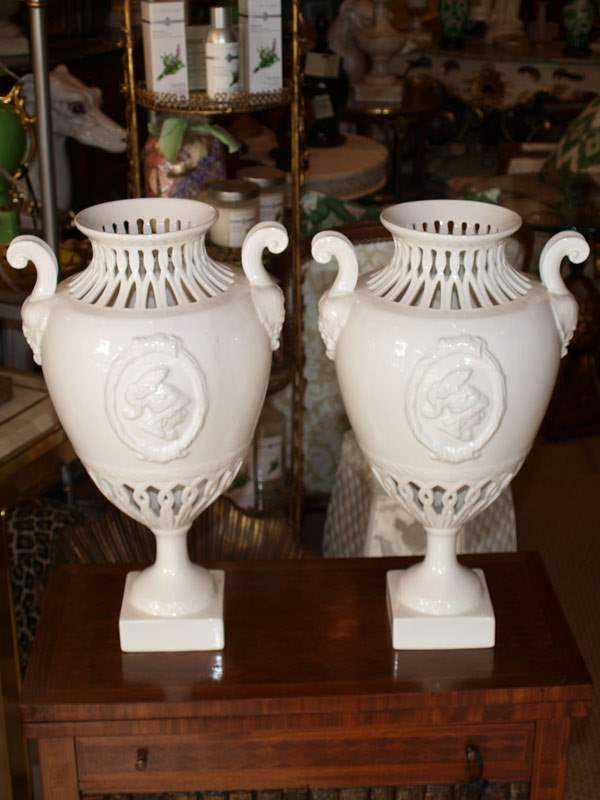 Pair of Urns by  Italian  - Masterpiece Online