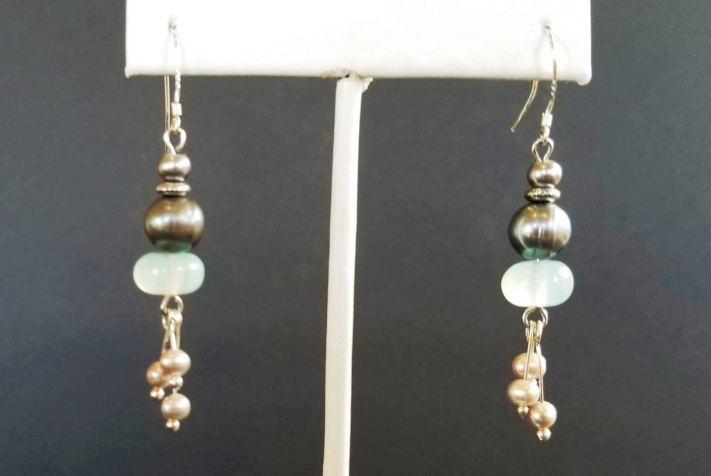 Chalcedony and Pearl ... by  Janet Hubbard - Masterpiece Online