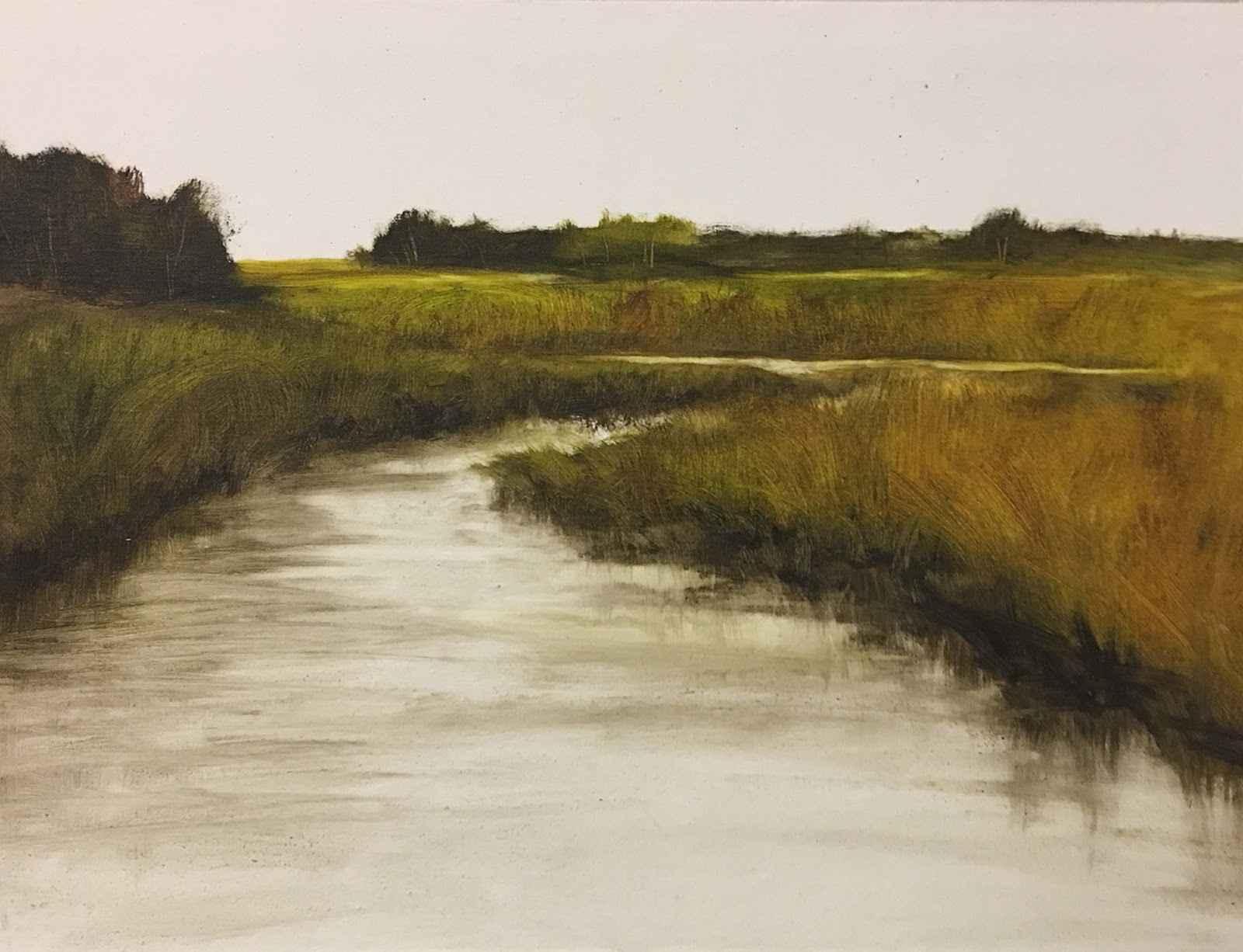 Marsh 4  by  Susan Leggitt
