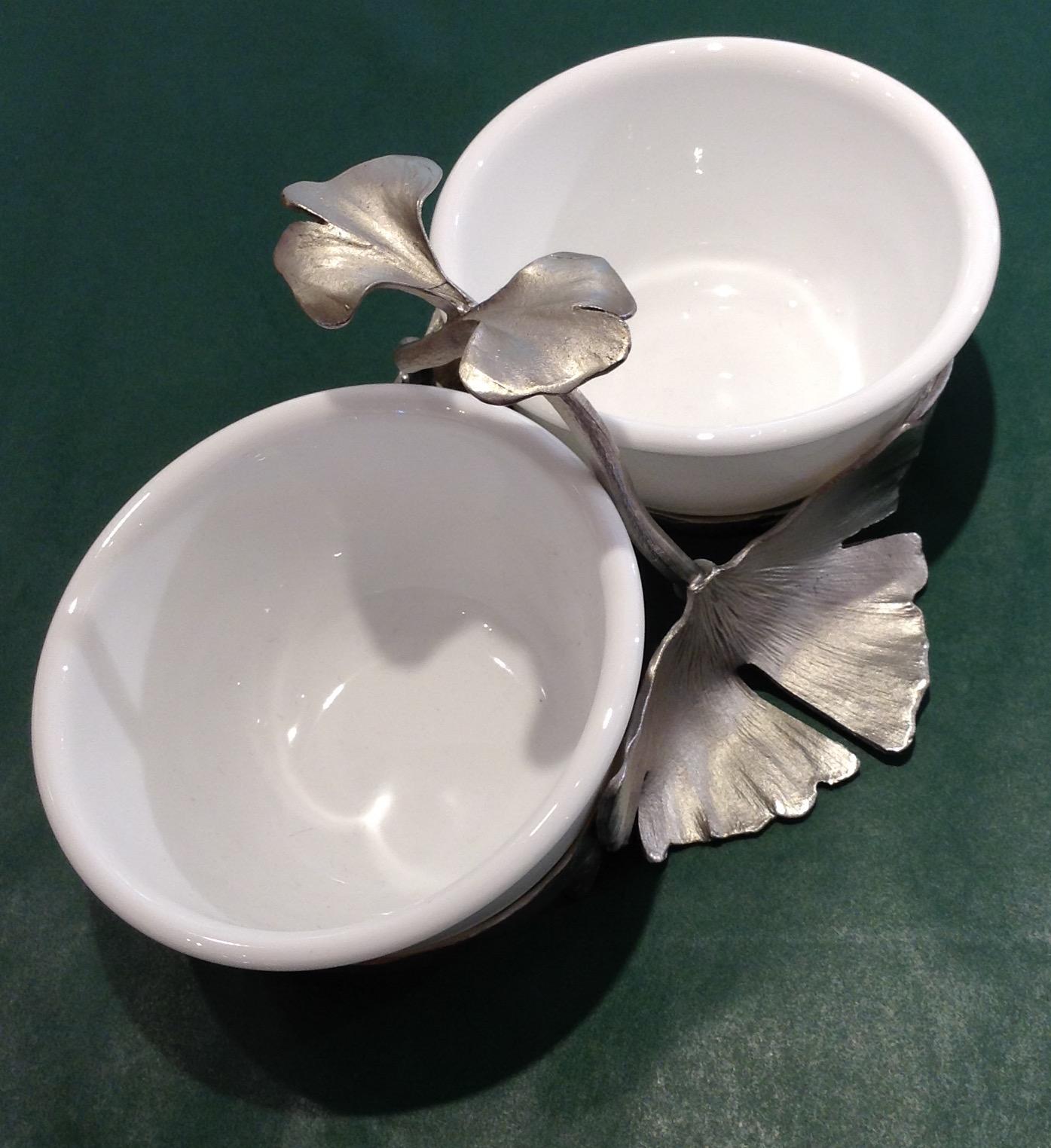Gingko Dipping Bowl
