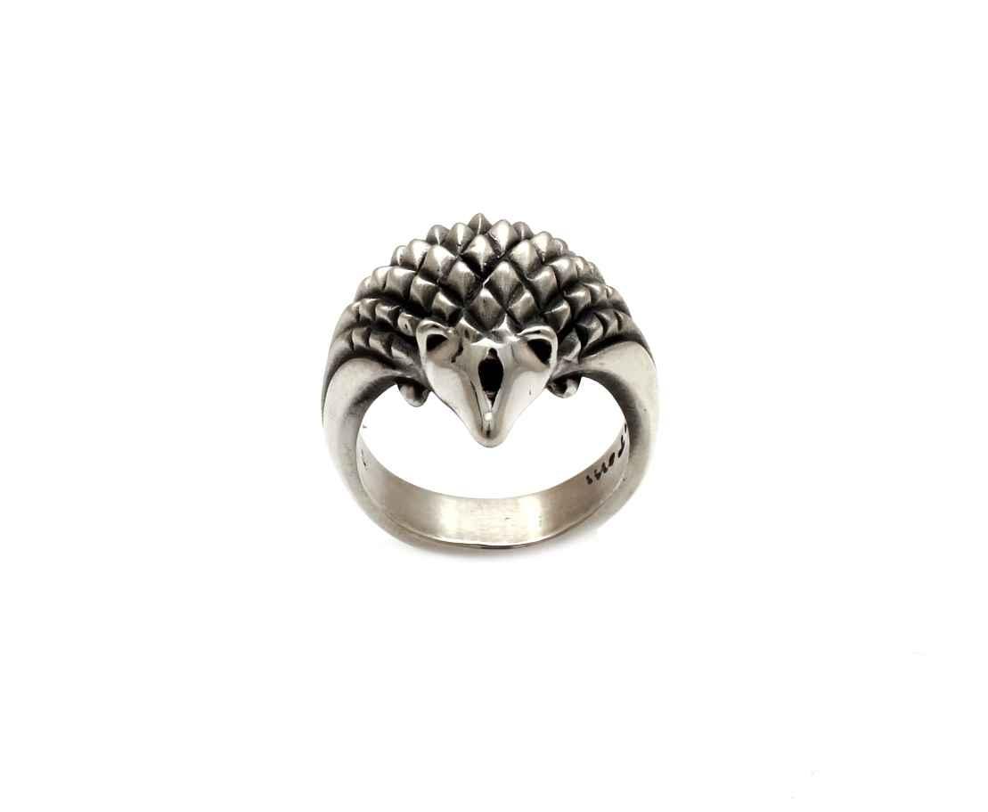 Hedgehog Ring by  Michael Tatom - Masterpiece Online