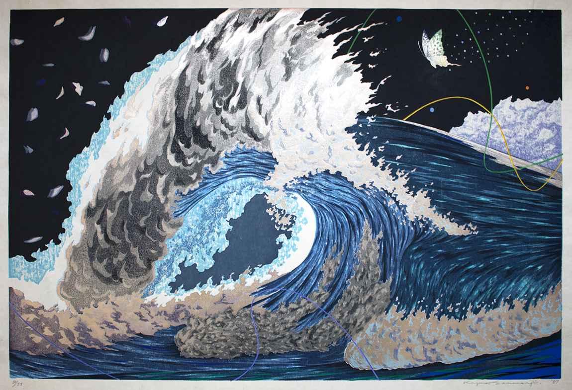 Wave by  Kazuhiko Sanmonji - Masterpiece Online