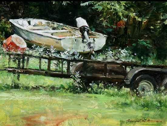Dry Dock by  John Austin Hanna - Masterpiece Online