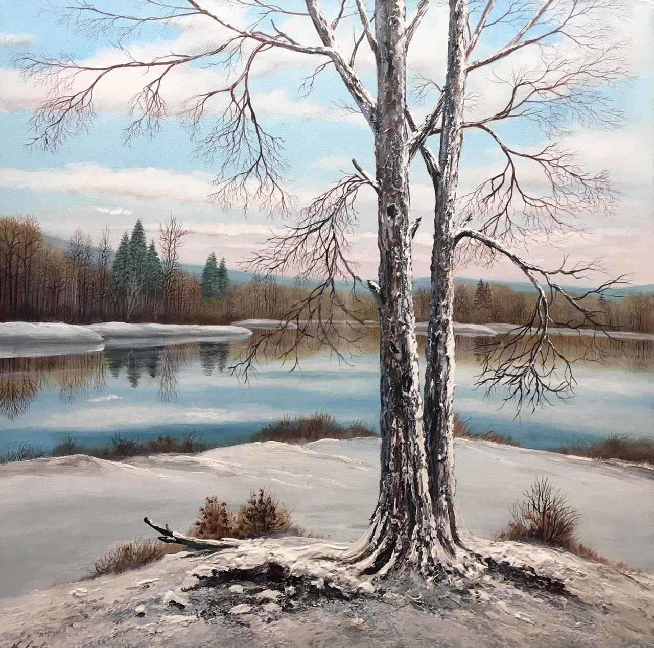 Winter's Peak by  Henry Lobo - Masterpiece Online