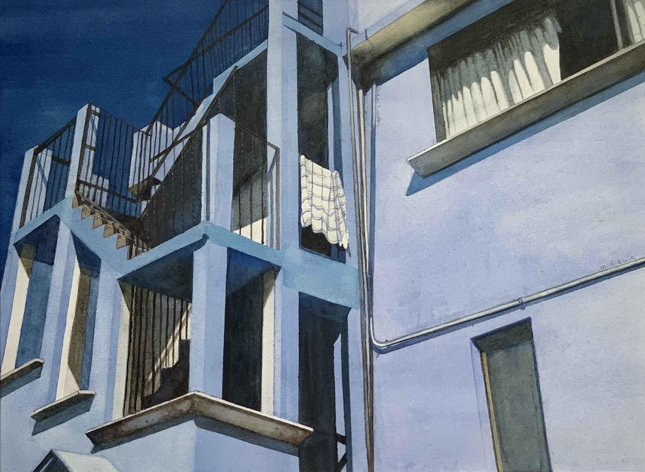 Blue House, Metepec by  Margaret Buie - Masterpiece Online