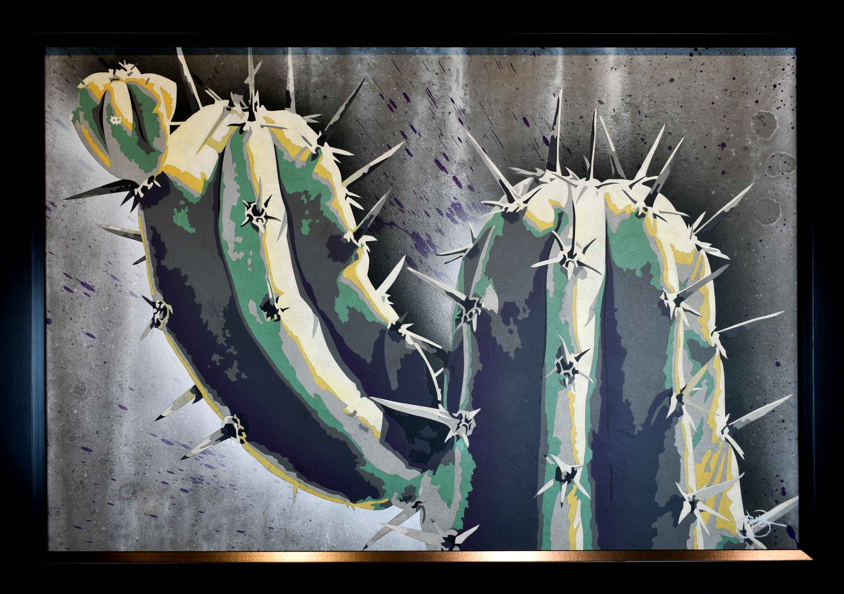 Cactus Makes Perfect by  Jerry Bergin - Masterpiece Online