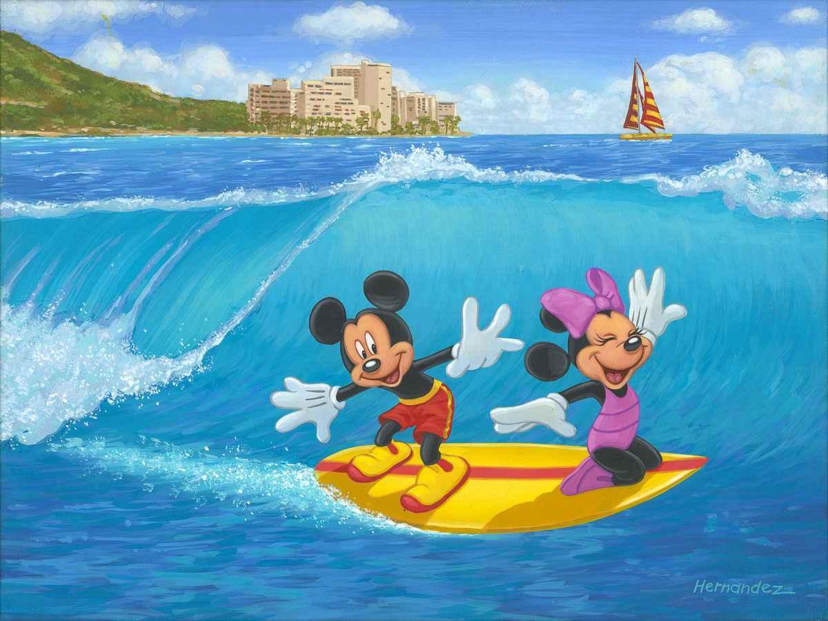 Surf Duo by  Manuel Hernandez - Masterpiece Online