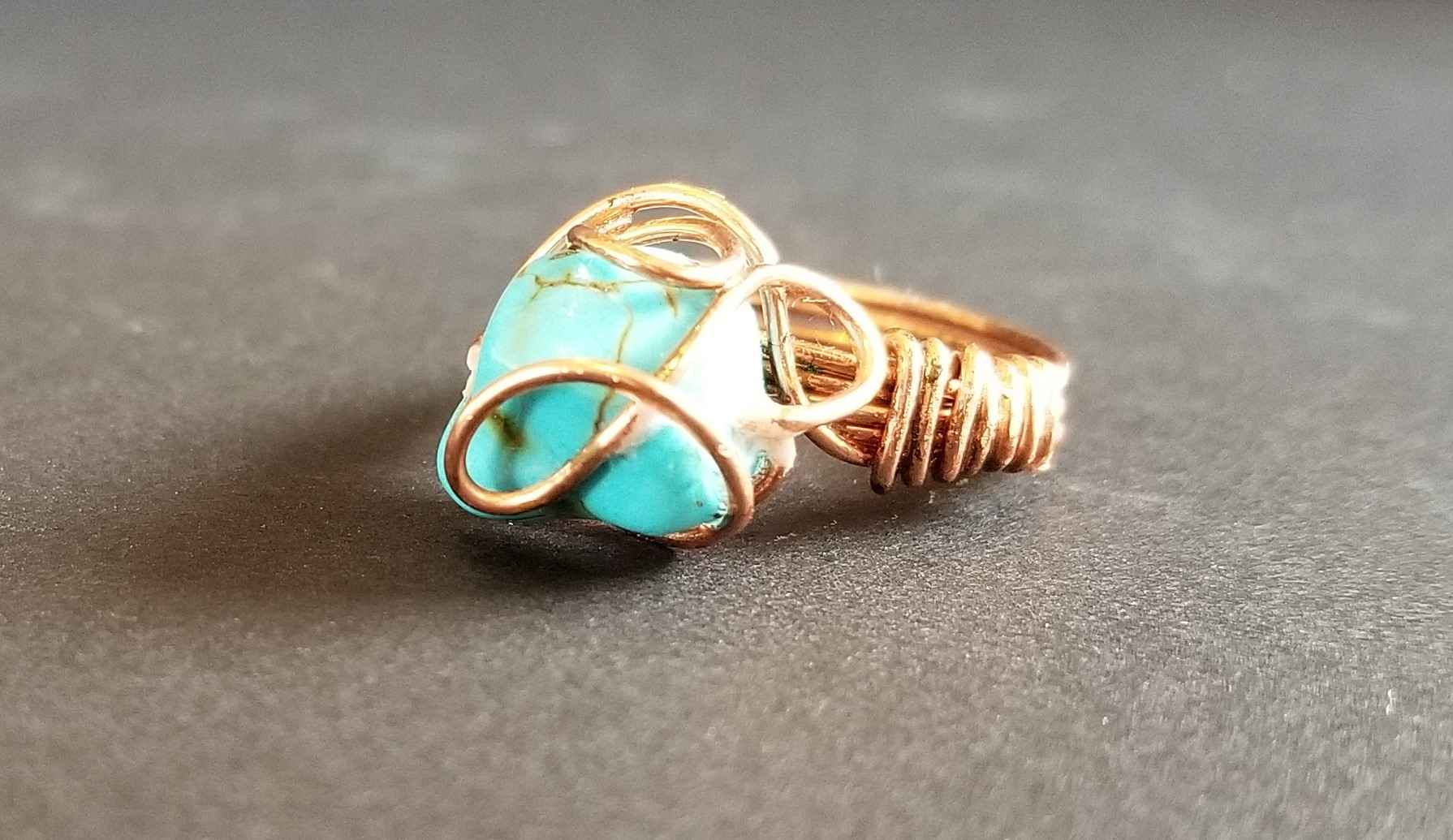 Turquoise Ring by  Janet Hubbard - Masterpiece Online