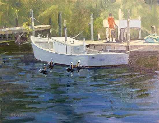 Waiting for Their Sup... by  Steve Hessler - Masterpiece Online