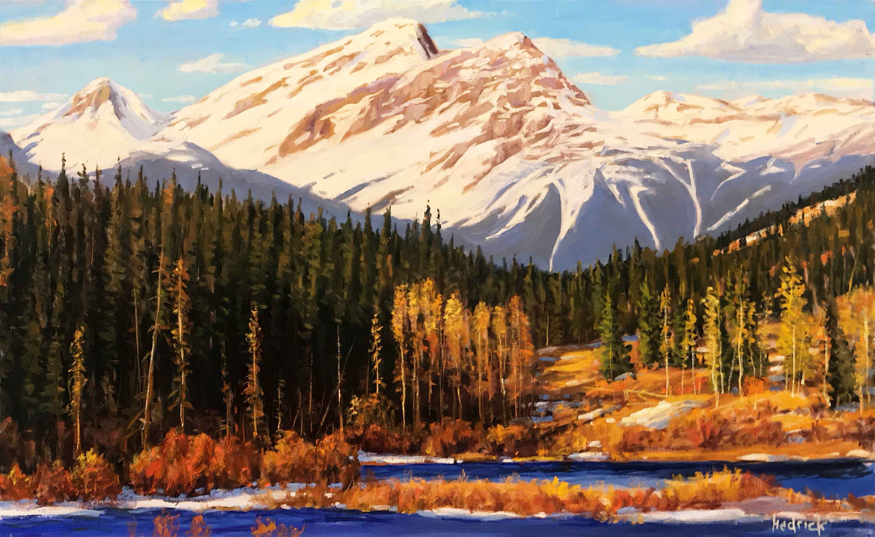 Kananaskis Changing S... by  Ron Hedrick - Masterpiece Online