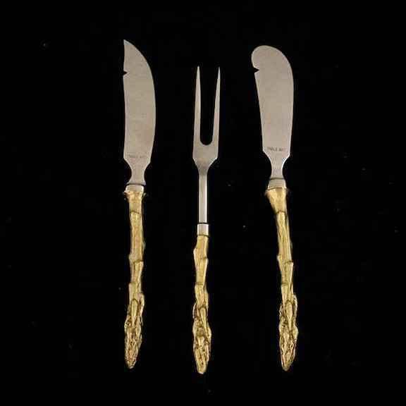 Asparagus Hostess Set of 3