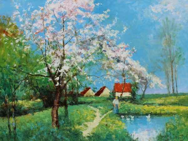 End of April by  Vladimir  Nasonov  - Masterpiece Online