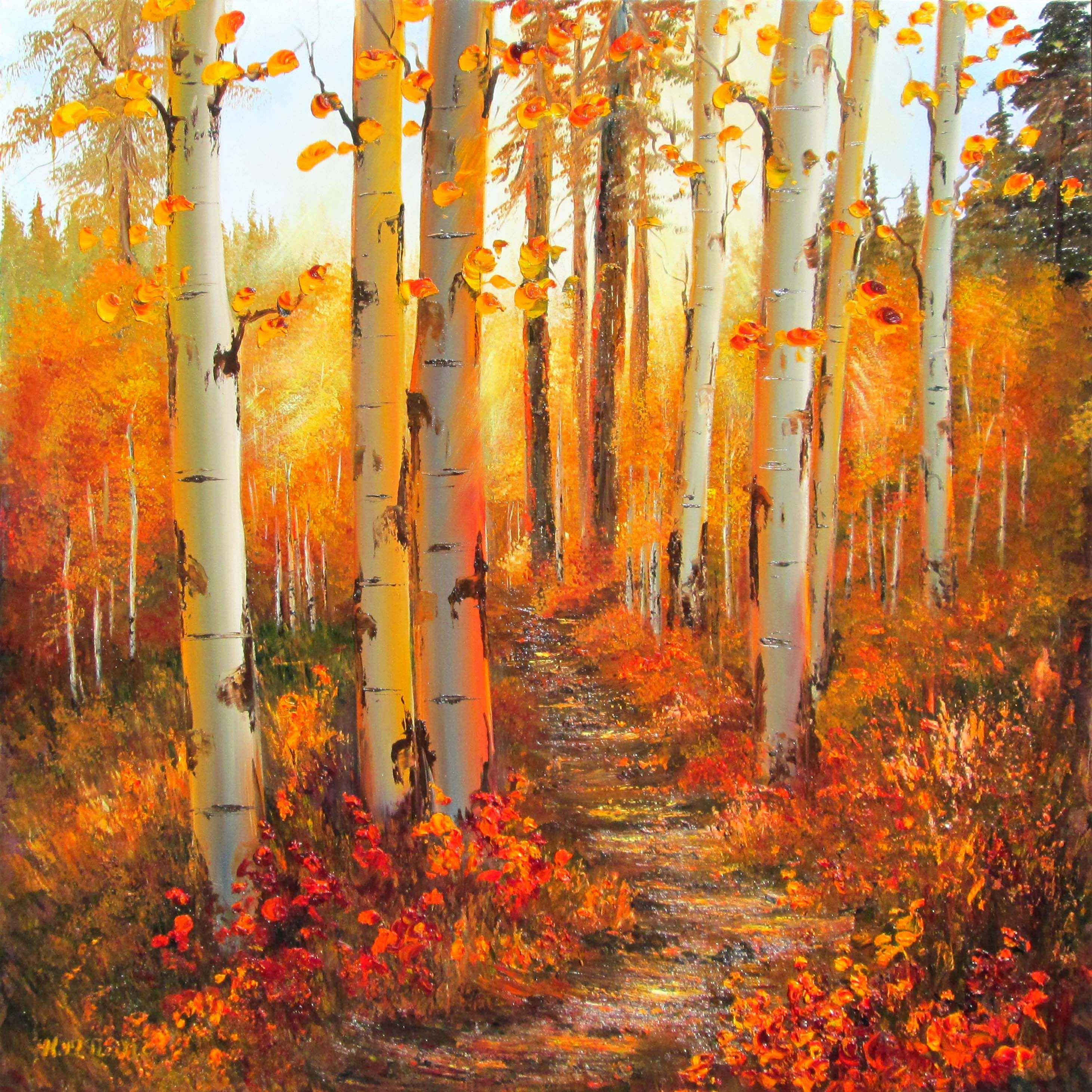 Fall Bliss by  Katherine McNeill - Masterpiece Online