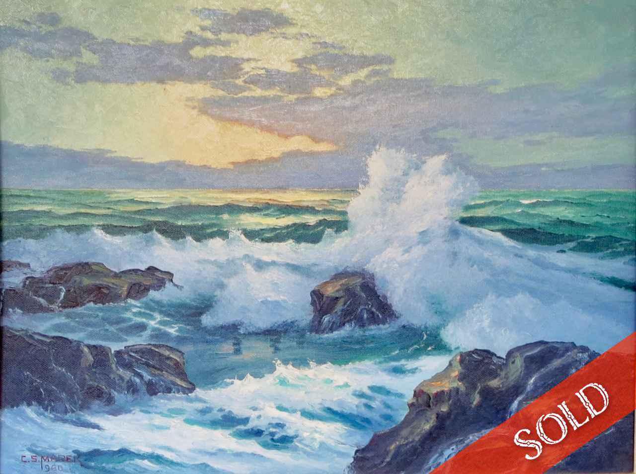 Sunrise at Kawailoa by  Charles (C.S.) Marek (1891-1979) - Masterpiece Online