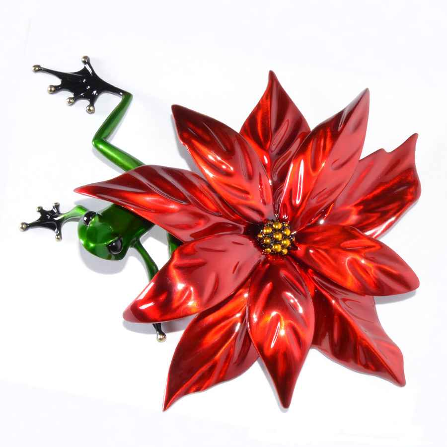 Poinsettia by  Tim Cotterill, The Frogman - Masterpiece Online