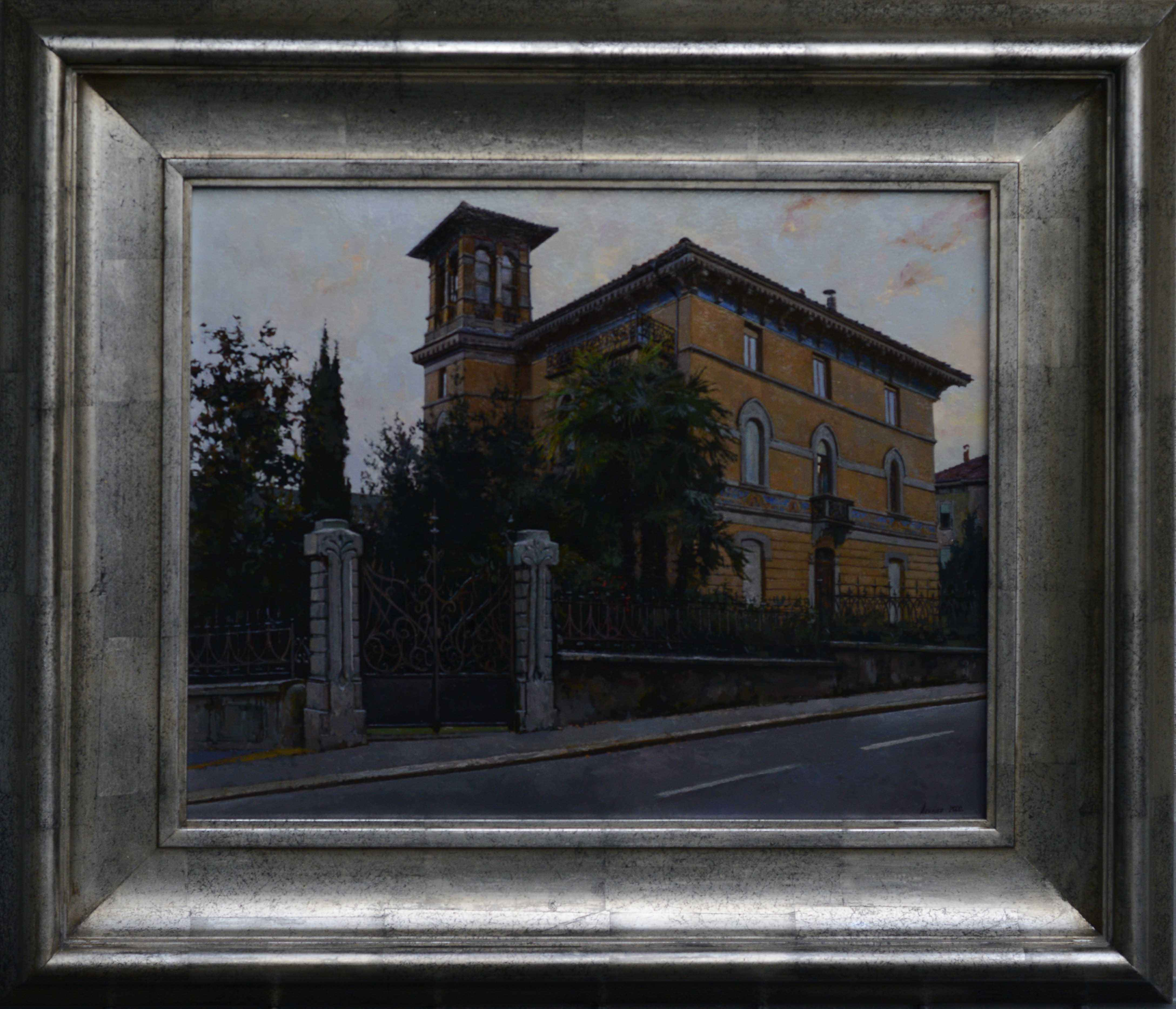 Dusk in Ticino by  Daud Akhriev - Masterpiece Online