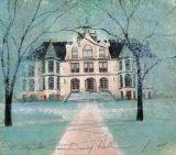 DENNY HALL by  P. Buckley Moss  - Masterpiece Online