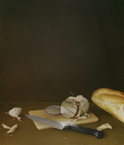 Still Life With Knife  by  Andren And Olga Dugin