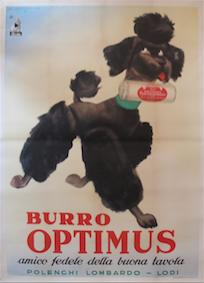 Burro Optimus (Dog) by  Marcello Dudovich - Masterpiece Online