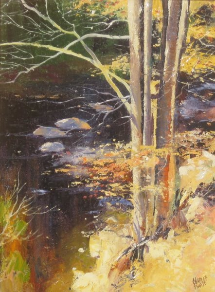 River Bank by  Charles Sharpe - Masterpiece Online