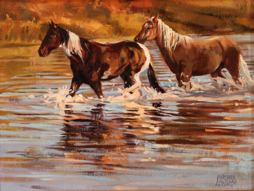 Single File by  Barbara Summers Edwards - Masterpiece Online