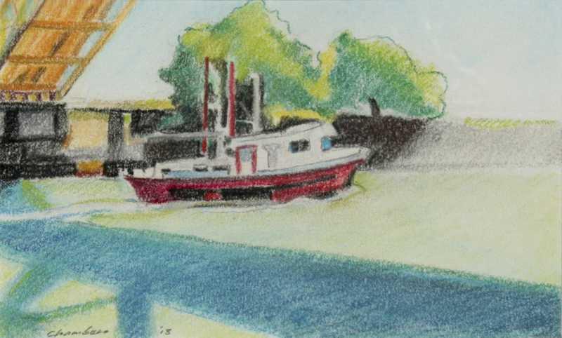 Tug Boat  by  Bill Chambers