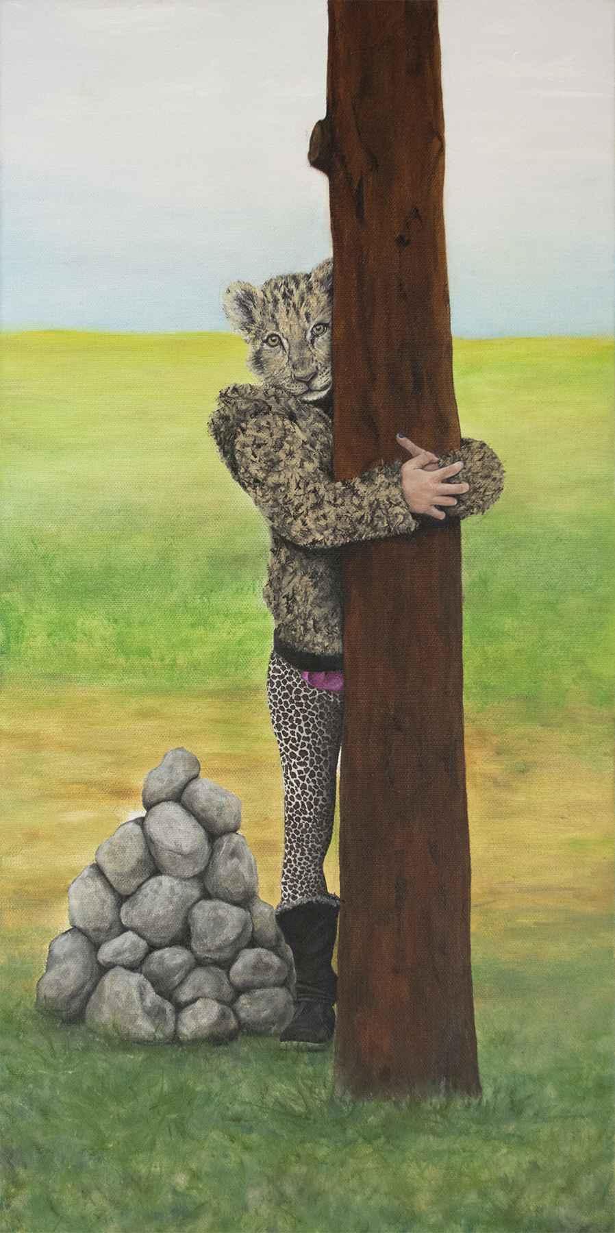 Tree Hugger by Ms. Raquel Fornasaro - Masterpiece Online