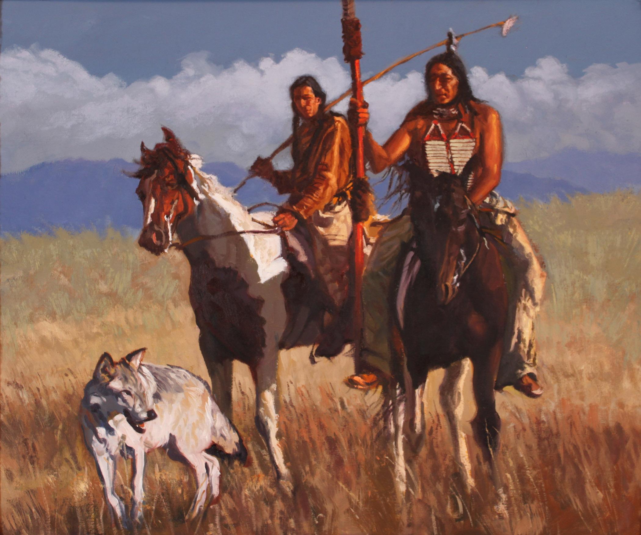 Wolf Clan by  Glen Edwards - Masterpiece Online