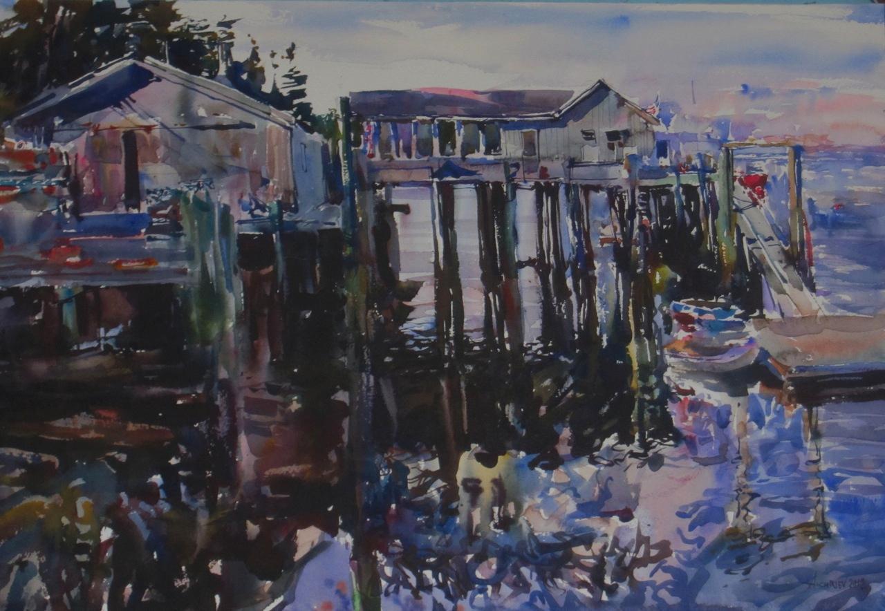 Lobster Pound, A by  Daud Akhriev - Masterpiece Online