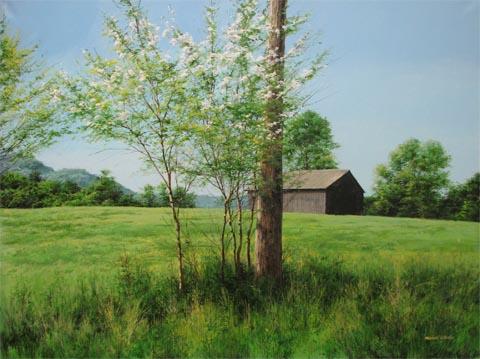 Honey Locust May Morn... by  Michael Wheeler - Masterpiece Online