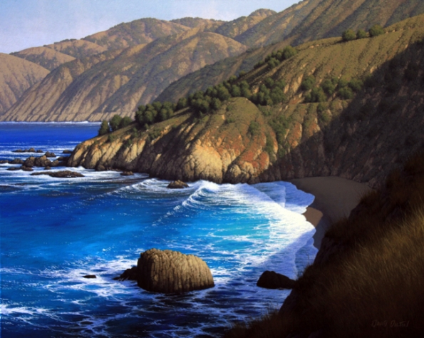China Basin Beach  by  David  Dalton