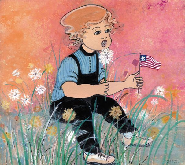 DANDY DAY, A by  P. Buckley Moss  - Masterpiece Online