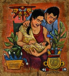 Newborn Baby by  Susan Guevara - Masterpiece Online