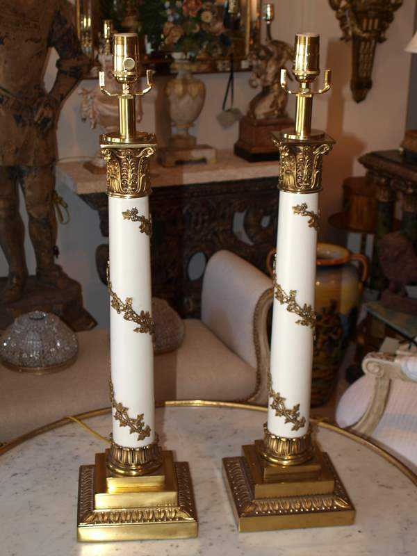 Pair of Lamps by  American  - Masterpiece Online