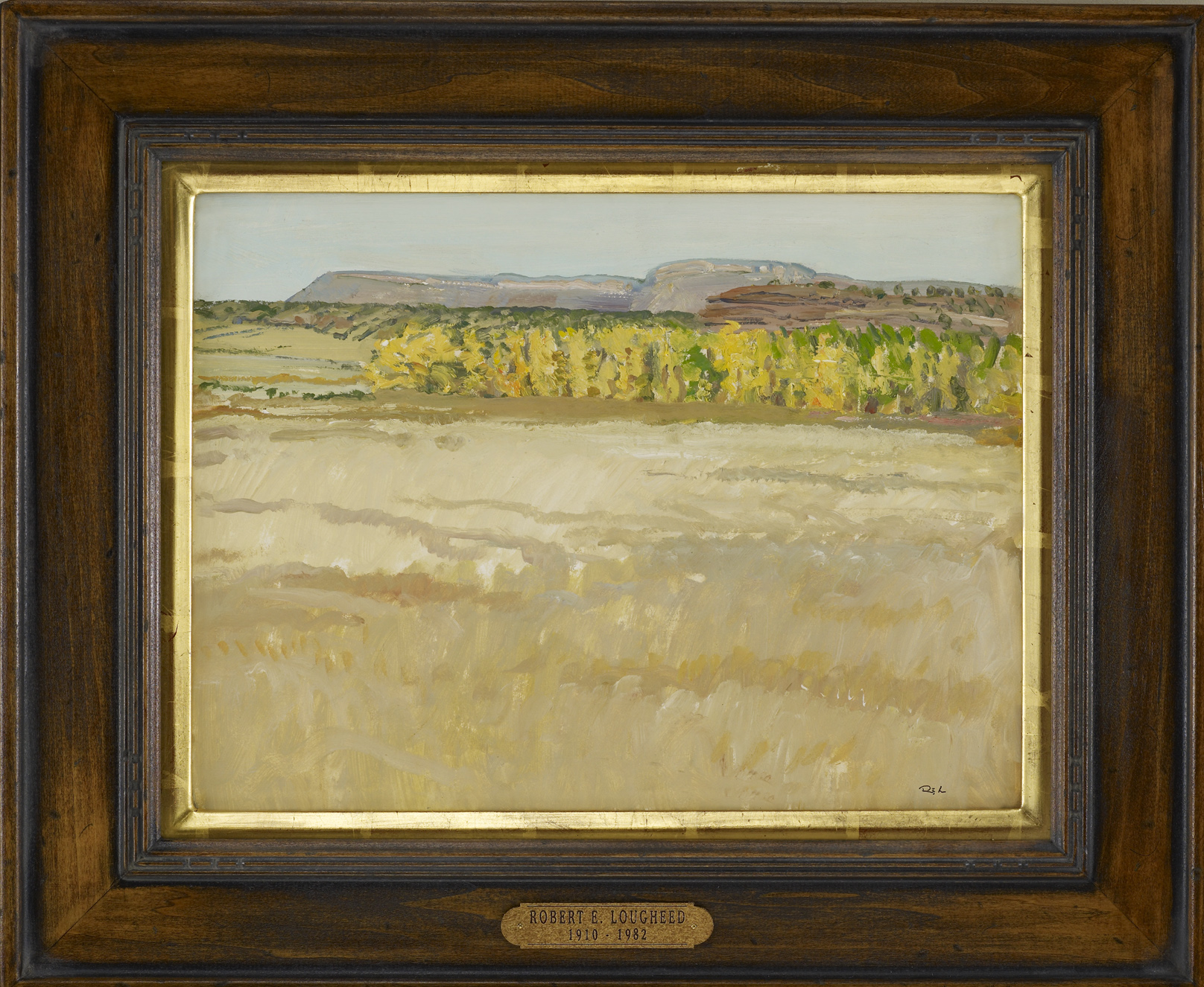 Fall Landscape New Me... by  Robert Lougheed - Masterpiece Online