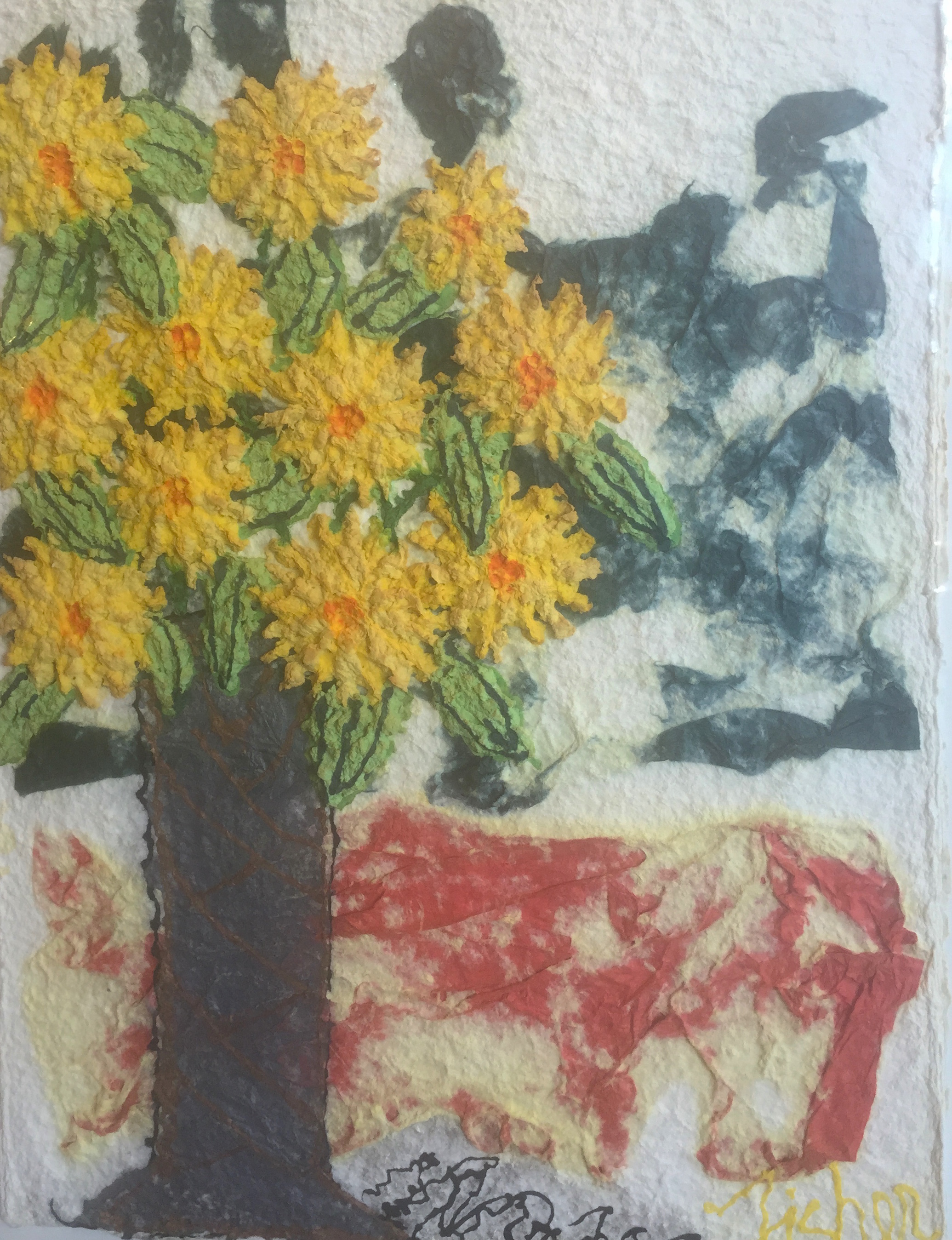 Stretch The Yellow by  Mary Fisher - Masterpiece Online