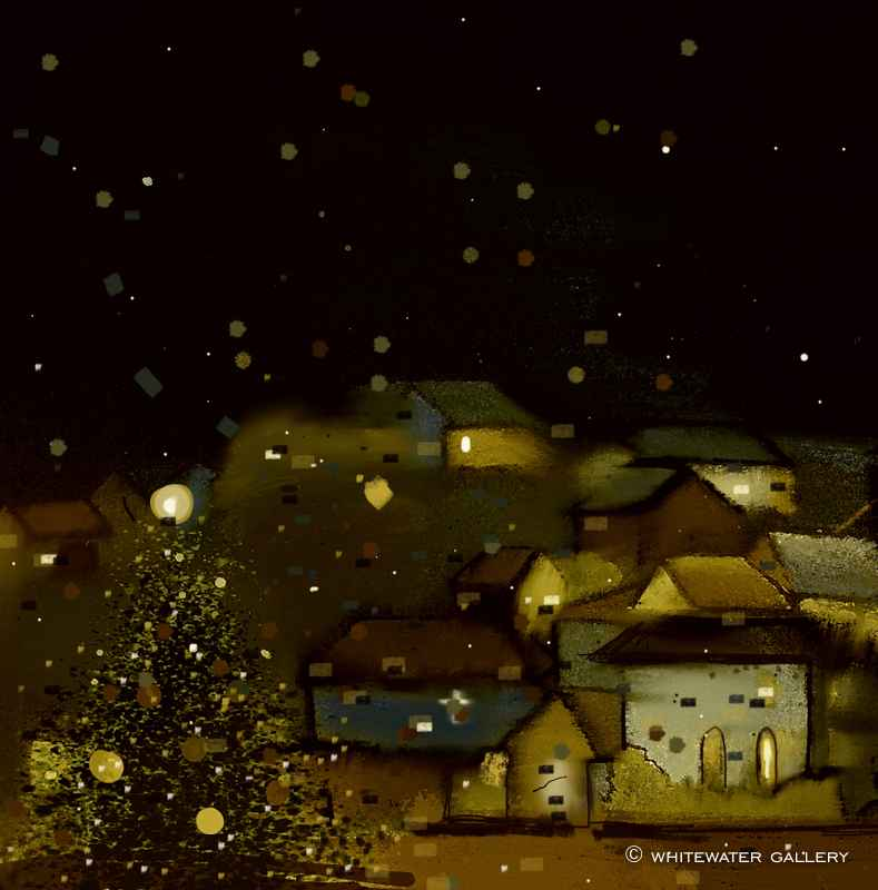 Golden Nights by  Charity Christmas Cards - Masterpiece Online