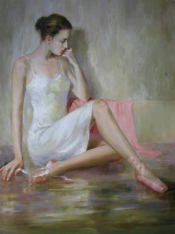 Satin Slippers by  Kelvin  Lei - Masterpiece Online