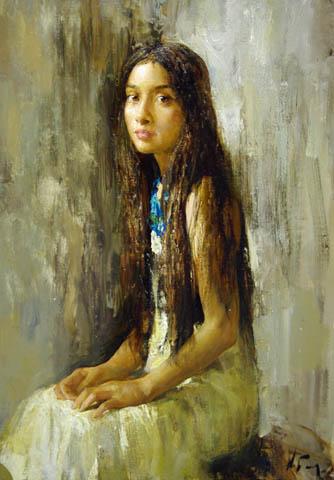 Margo by  Nikolai  Blokhin  - Masterpiece Online