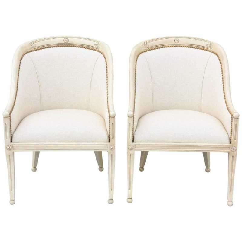 Pair of Painted Itali... by  Italian  - Masterpiece Online