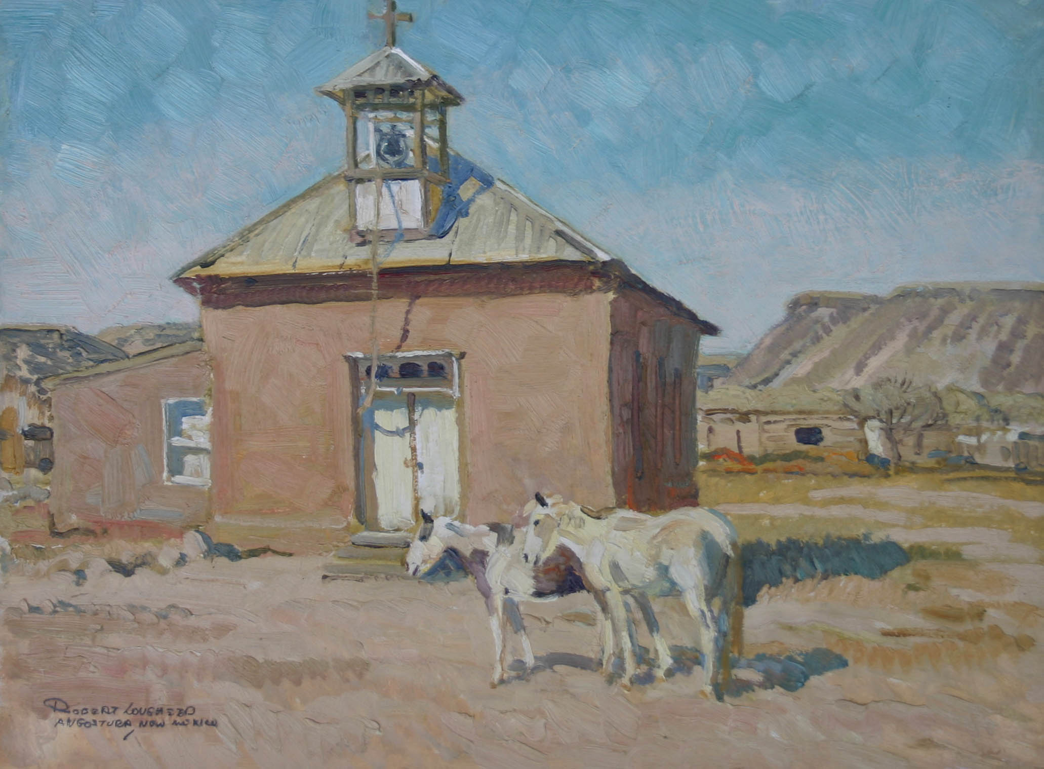 Angostura, New Mexico by  Robert Lougheed - Masterpiece Online