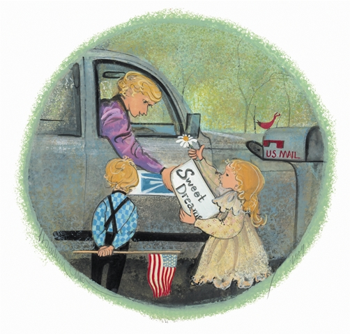 DELIVERING SWEET DREA... by  P. Buckley Moss  - Masterpiece Online