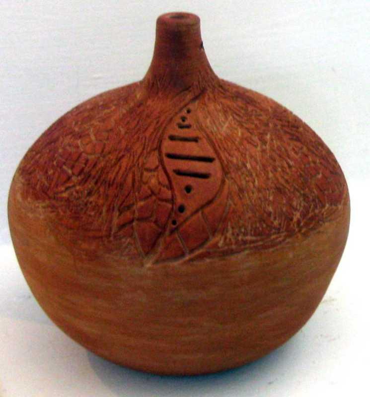 Terracotta Vessel 3 by  Ancel Daniel - Masterpiece Online
