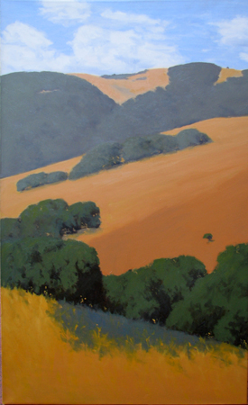 Sunshine in the Valley by  Donald  Craghead - Masterpiece Online