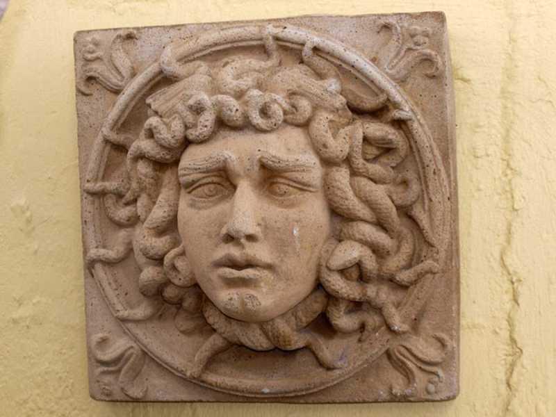 Cast Stone Medusa by  None None - Masterpiece Online