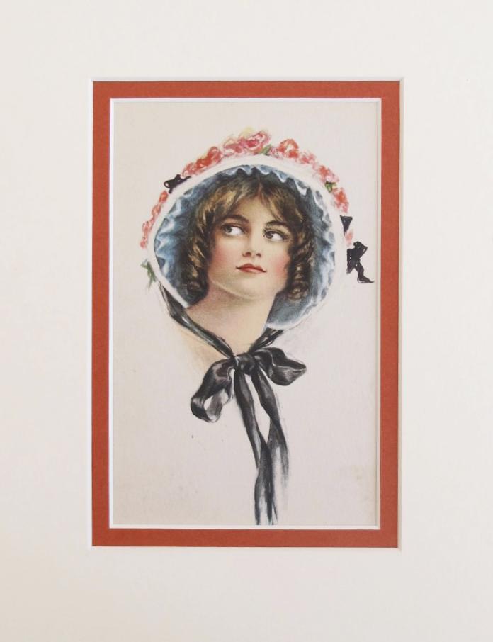 Lady in bonet by    - Masterpiece Online