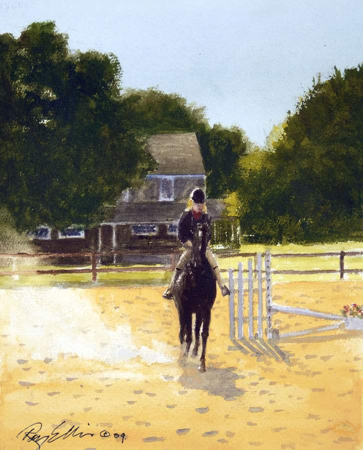 Young Rider by  Ray Ellis - Masterpiece Online