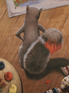 Paint On His Tail
