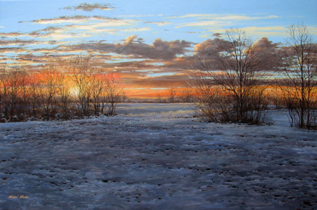 Sunrise, Washington C... by  Michael Wheeler - Masterpiece Online