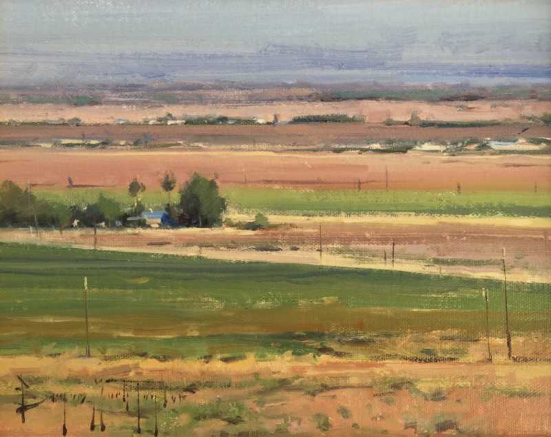 Central Valley Fields...  by  Bryan Mark Taylor